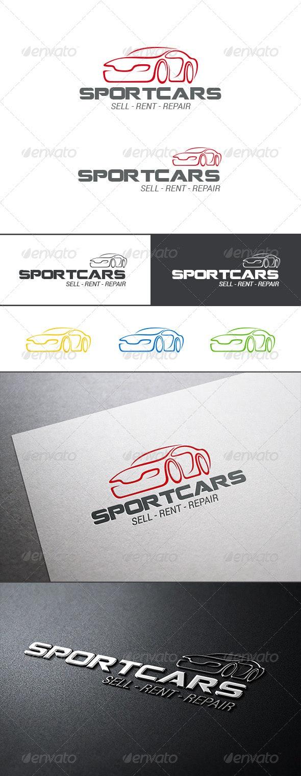 Auto Car Logo Abstract - Objects Logo Templates