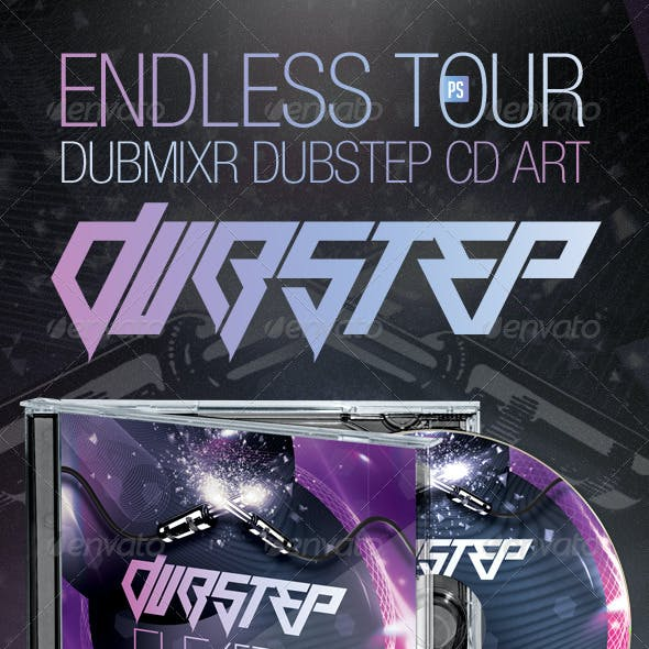 Endless Tour - Dubstep DubMixr CD Artwork