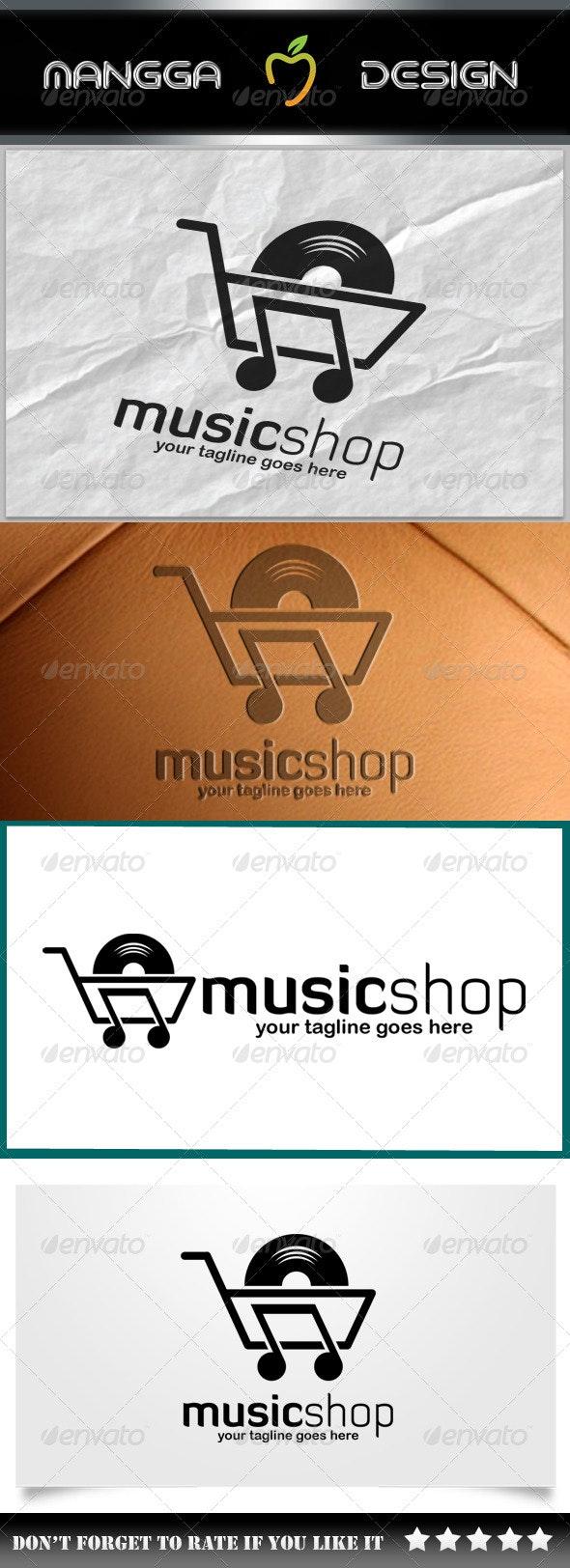 Music Shop Logo - Symbols Logo Templates