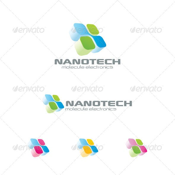 Electronics Technology Chip Logo