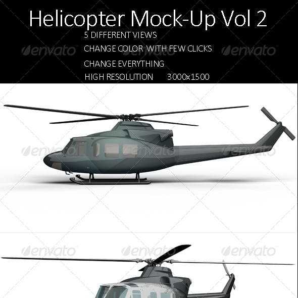 Helicopter Mock-Up Vol 2