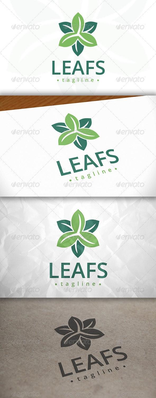 Leafs Logo - Nature Logo Templates