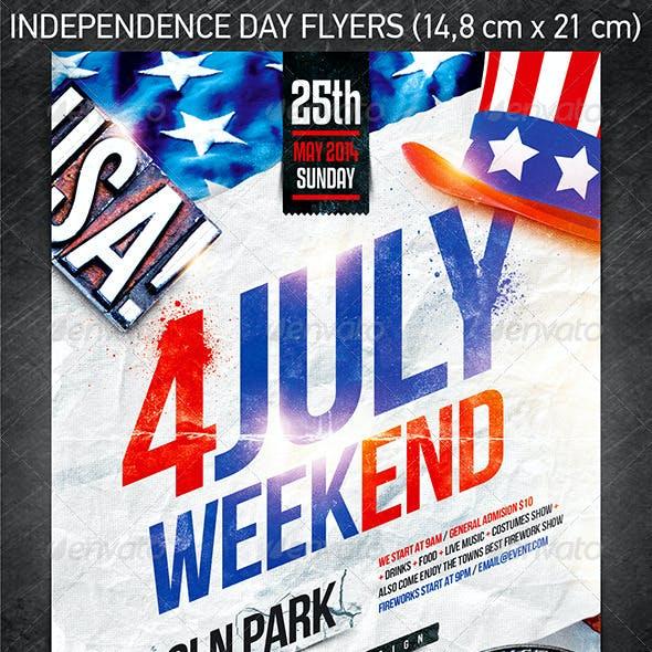 Independence Day Flyer Bundle