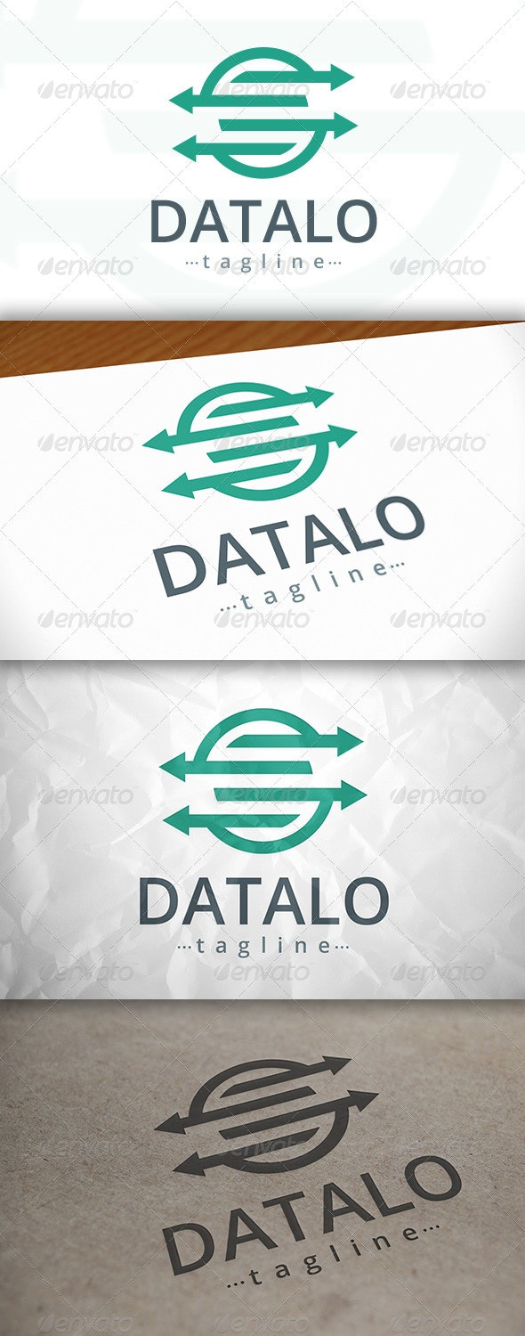 Data Logo - Symbols Logo Templates