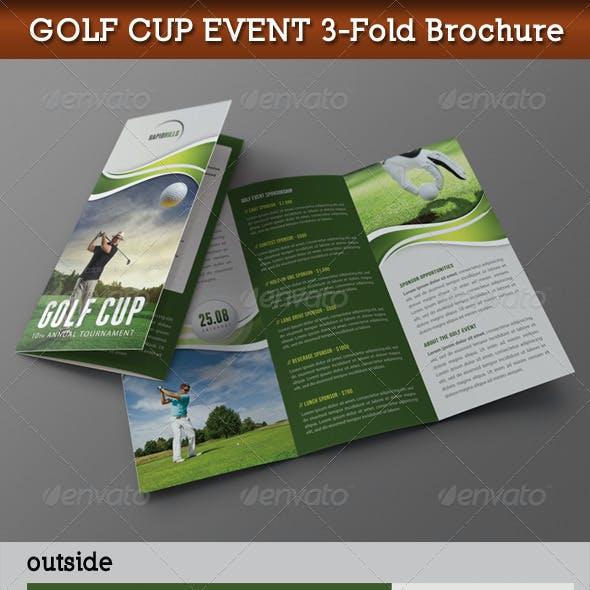 Golf Cup Event 3-Fold Brochure 01