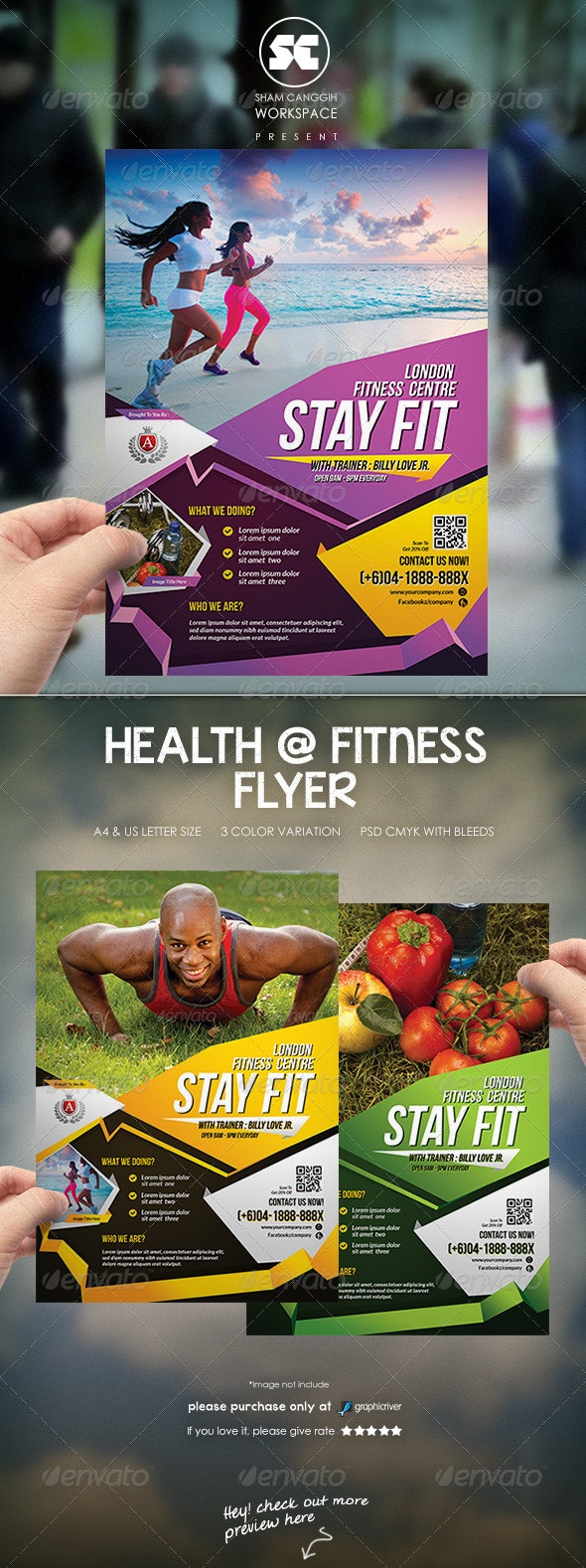 Sport & Fitness Flyer - Sports Events