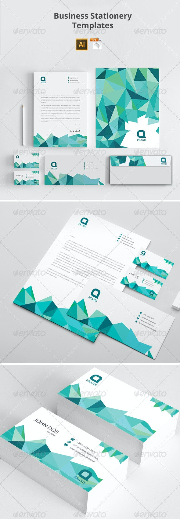 Business Stationery Templates - Stationery Print Templates