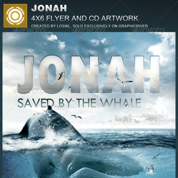Jonah Church Flyer and CD Template