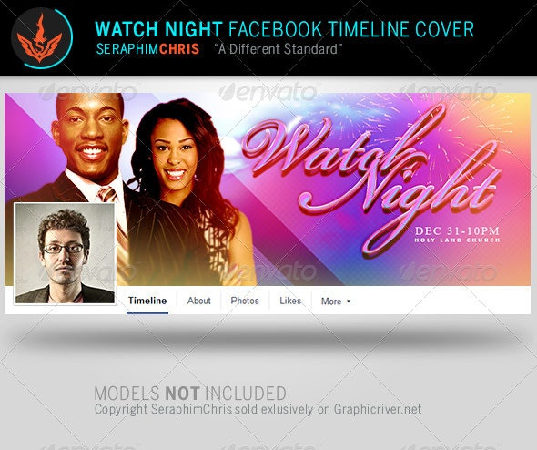 Watch Night Facebook Timeline Cover Template - Facebook Timeline Covers Social Media