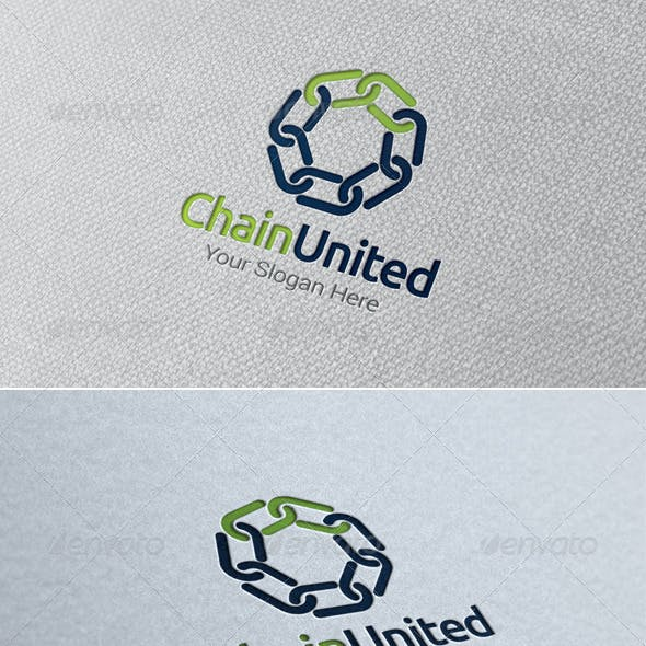 Chain United Logo Template