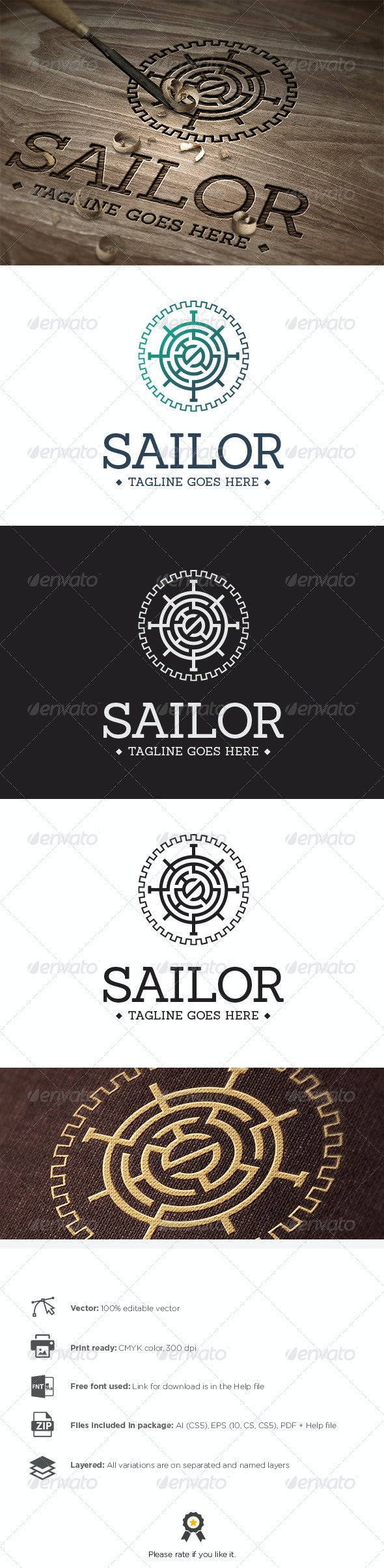 Sailor Logo - Symbols Logo Templates