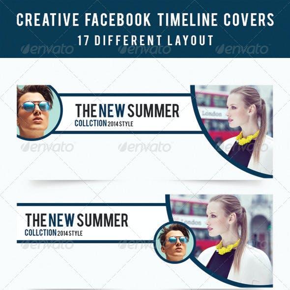 Creative Facebook Timeline Covers V1