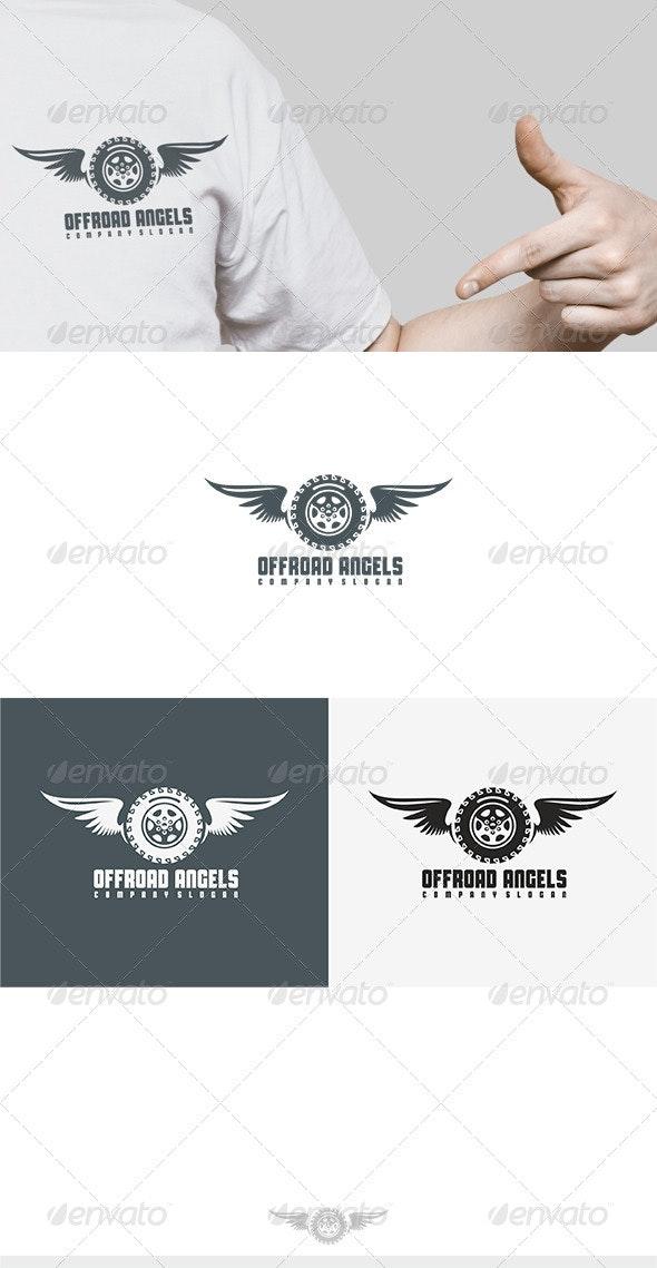 Offroad Angels Logo - Symbols Logo Templates
