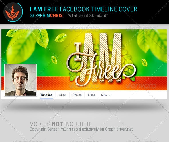 I Am Facebook Timeline Cover Template - Facebook Timeline Covers Social Media