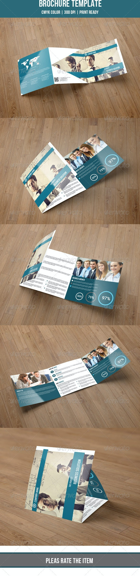 Square Trifold-V07  - Corporate Brochures