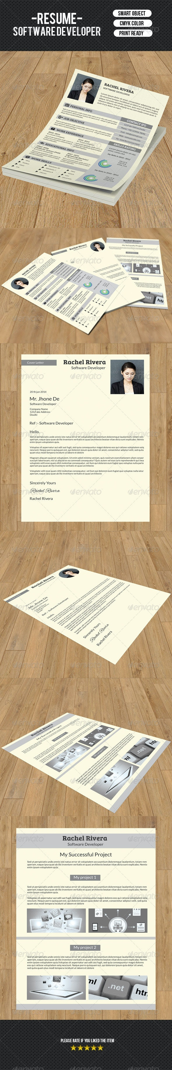 Classic Resume Template-V05 - Resumes Stationery