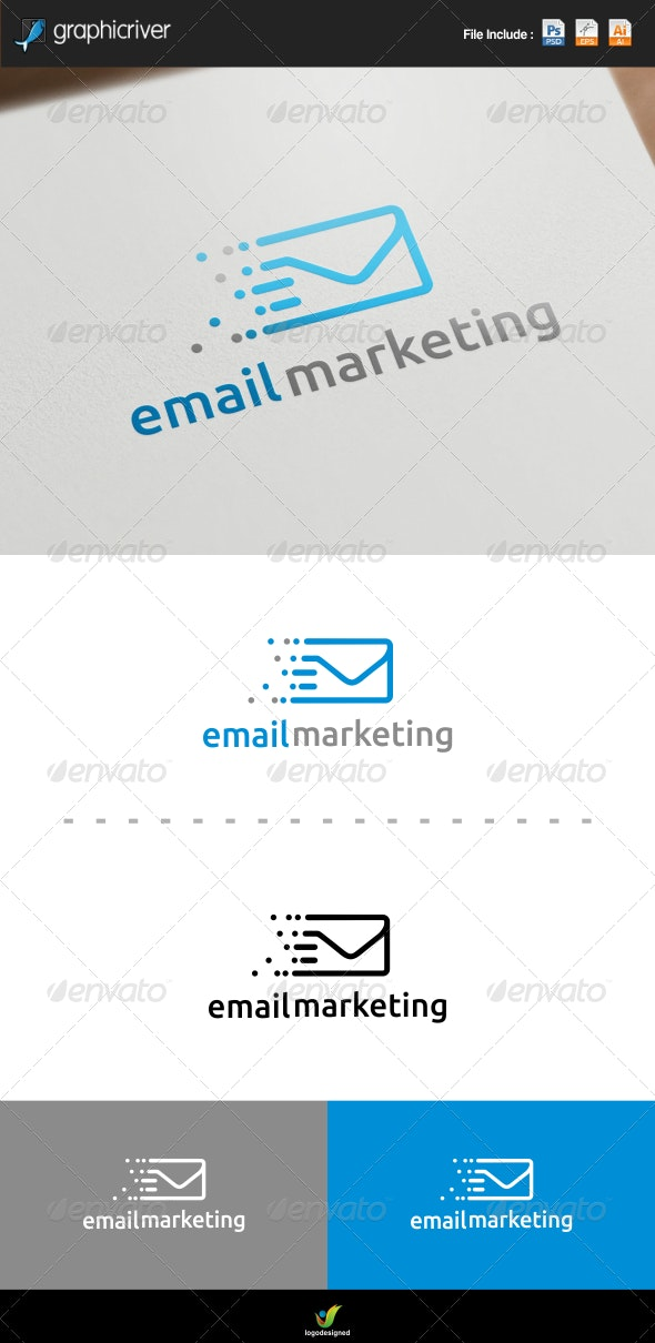 Email Marketing - Symbols Logo Templates