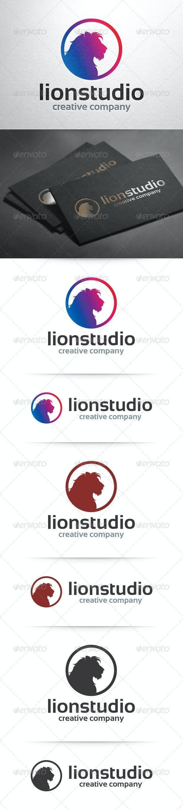Lion Studio Logo Template - Animals Logo Templates