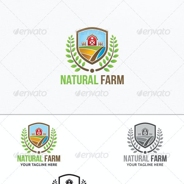 Natural Farm - Logo Template