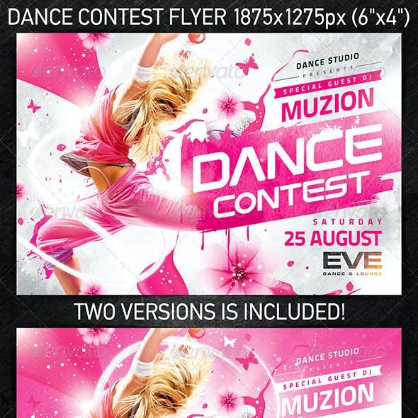 Dance Contest Flyer vol.2
