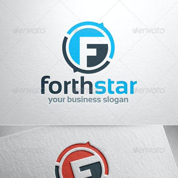 Forthstar - Letter F Logo Template