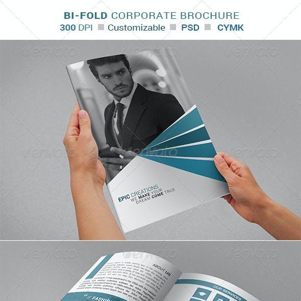 Bi - Fold Brochure Design