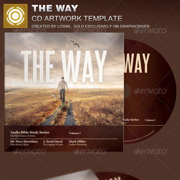 The Way CD Artwork Template