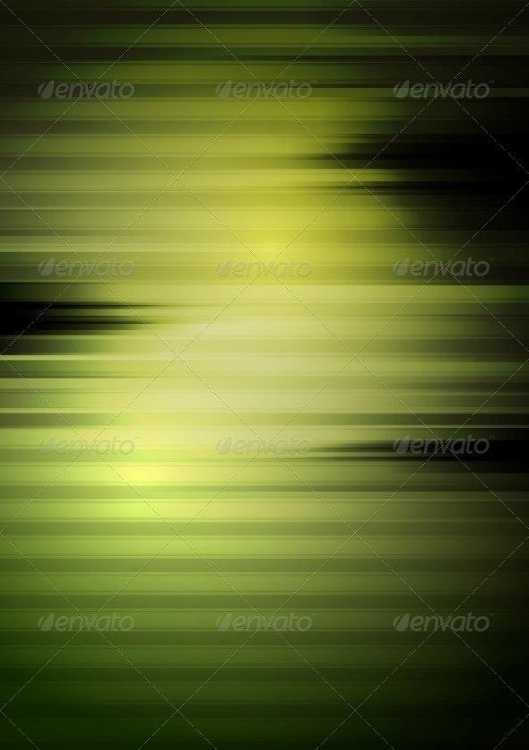 Dark Green Tech Striped Background - Backgrounds Decorative