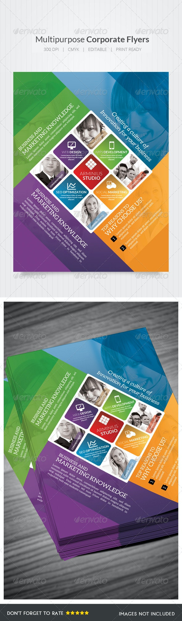 Design Agency Flyers - Corporate Flyers