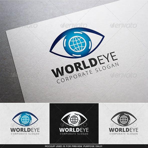 World Eye Logo Template