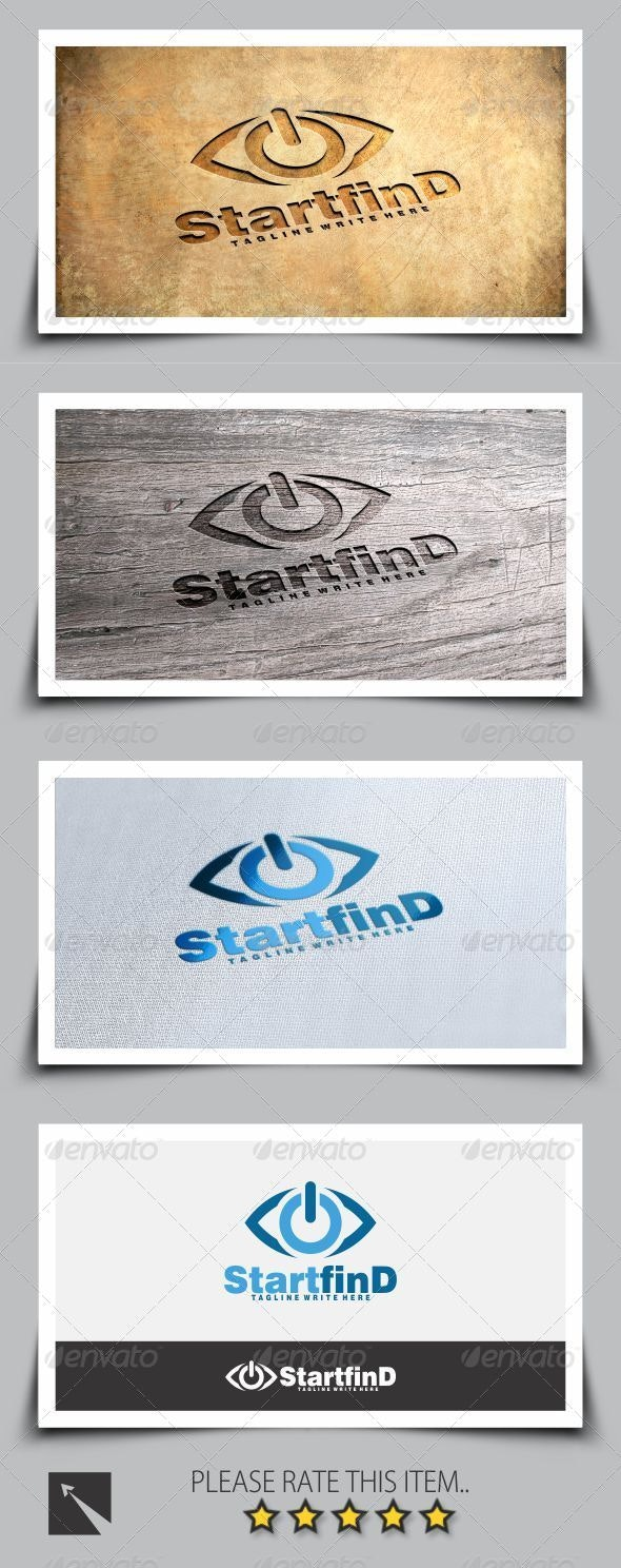 Start Find Eye Logo Template - Symbols Logo Templates