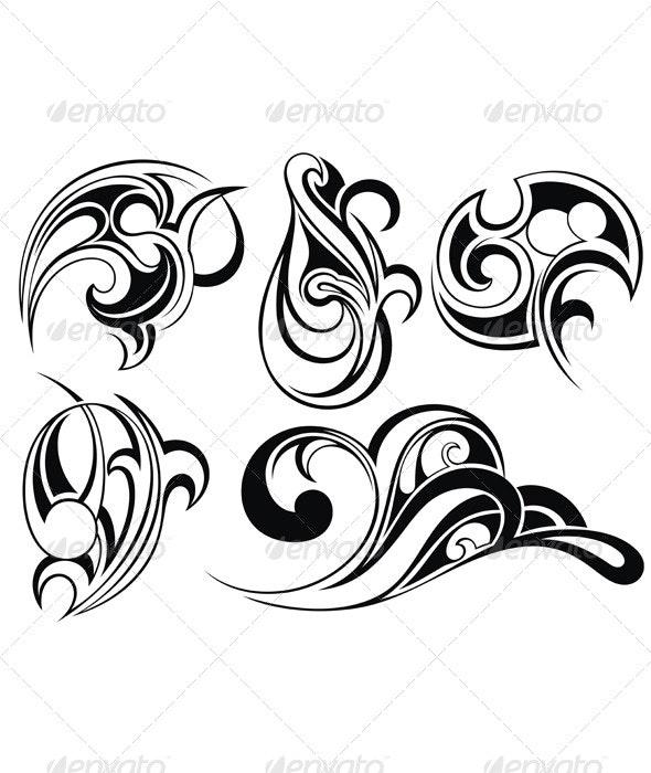 Tribal Art Tattoo - Tattoos Vectors
