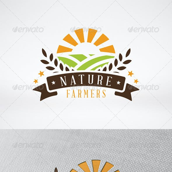 Green Farm Logo Template