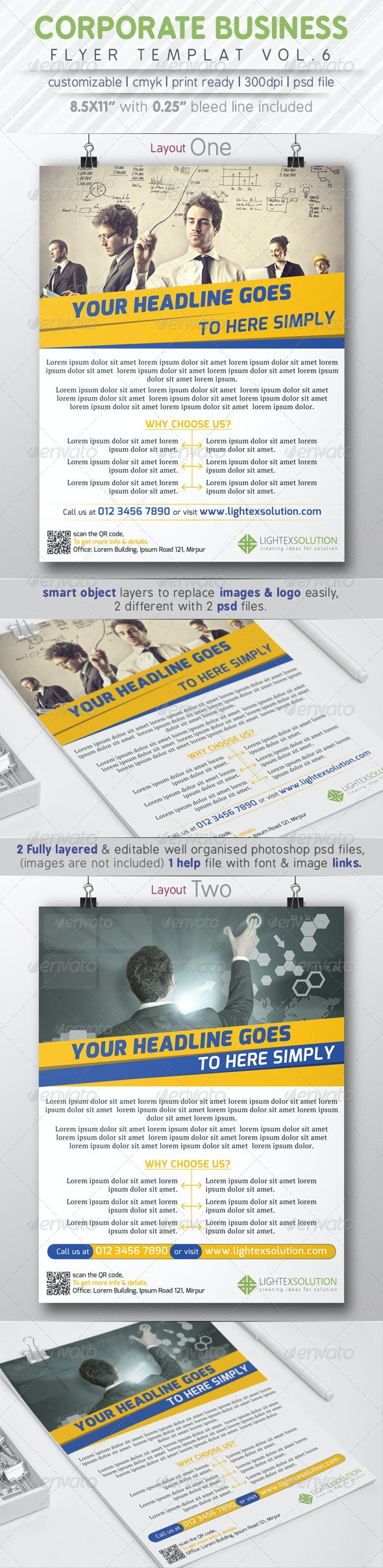 Corporate Business Flyer Vol.6 - Corporate Flyers