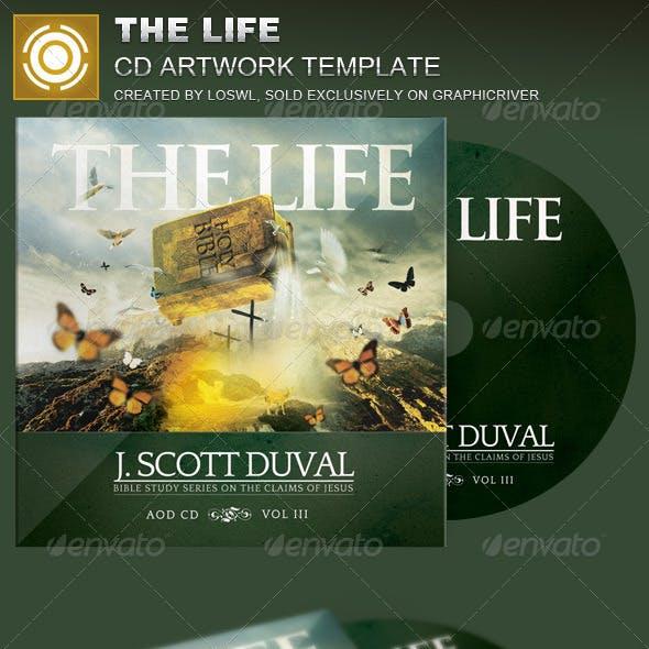 The Life CD Artwork Template