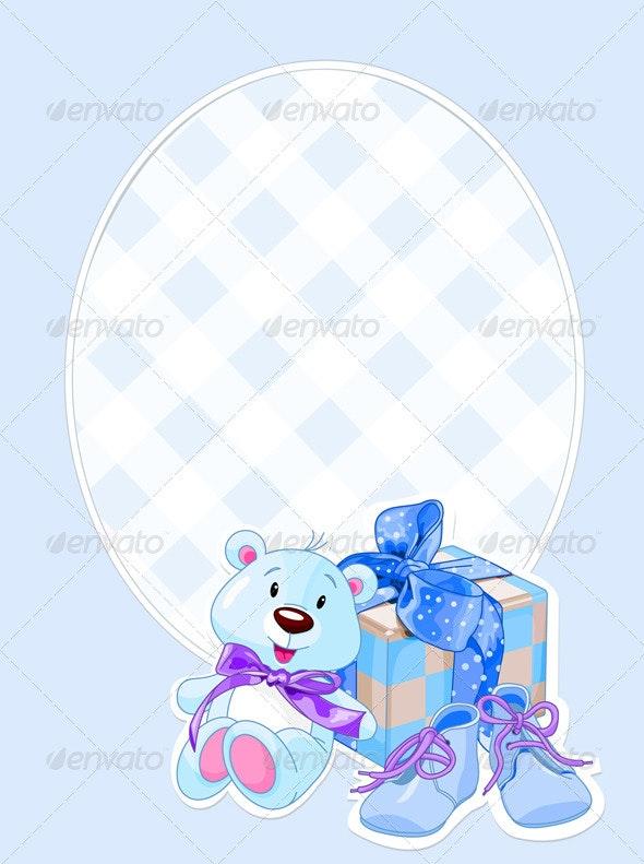 Baby Boy Arrival Card  - Birthdays Seasons/Holidays