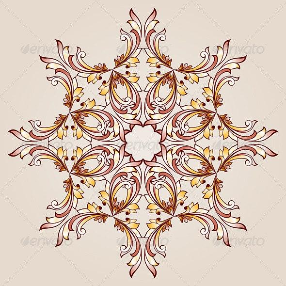 Flower Pattern Henna - Patterns Decorative