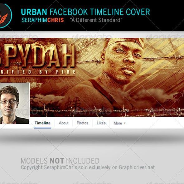 Spydah: Urban Facebook Timeline Cover Template