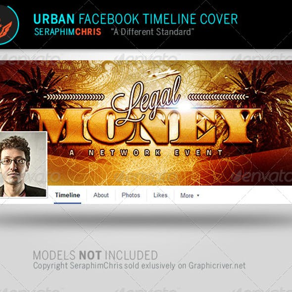 Legal Money: Urban Facebook Timeline Template