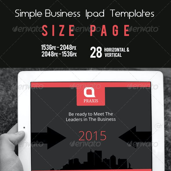 Simple Business Ipad Templates