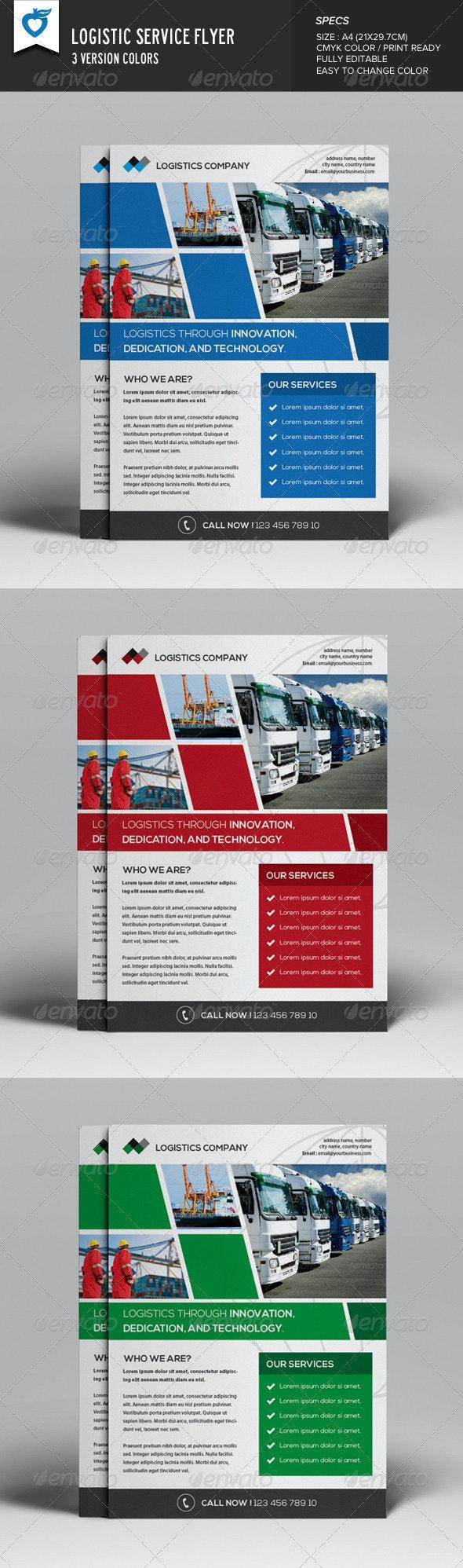 Logistics Flyer - Corporate Flyers