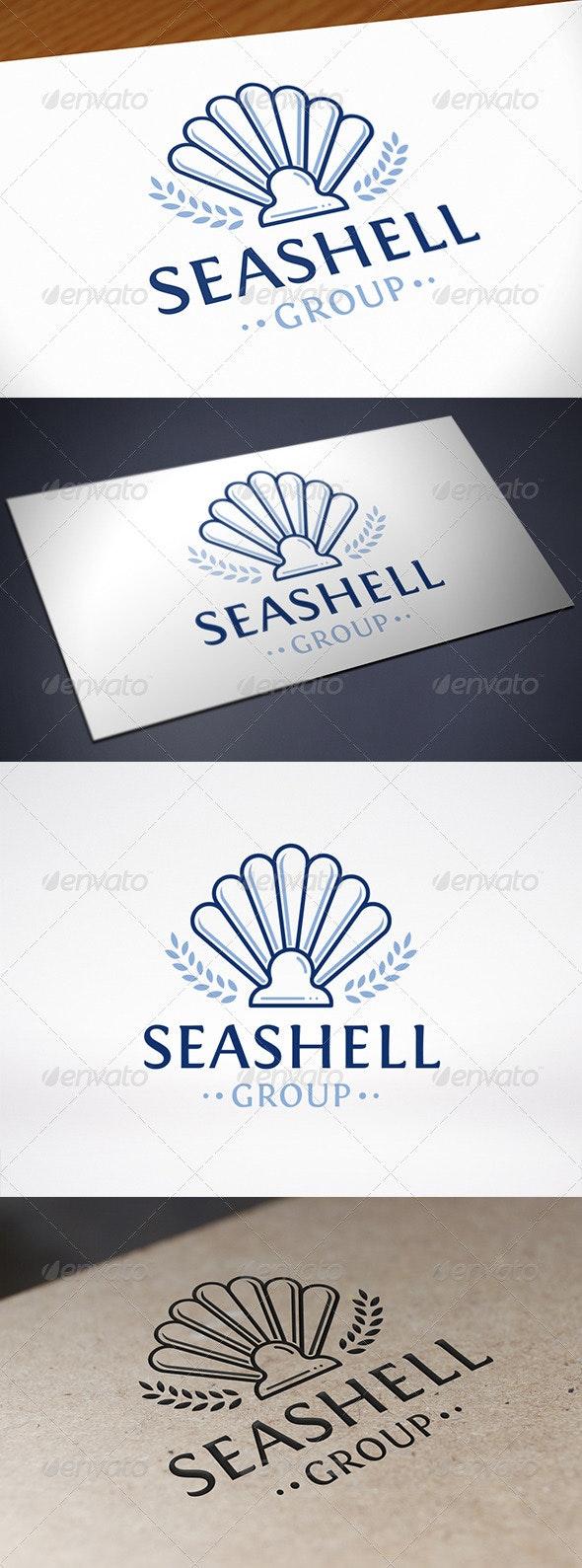 Sea Shell Logo Template - Vector Abstract