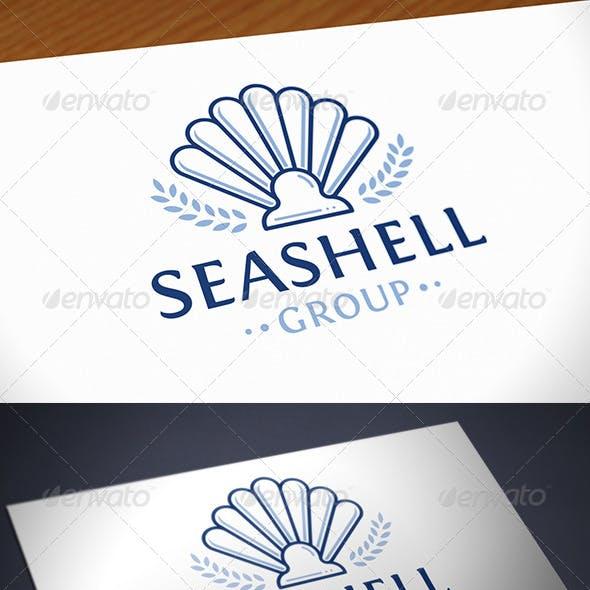 Sea Shell Logo Template
