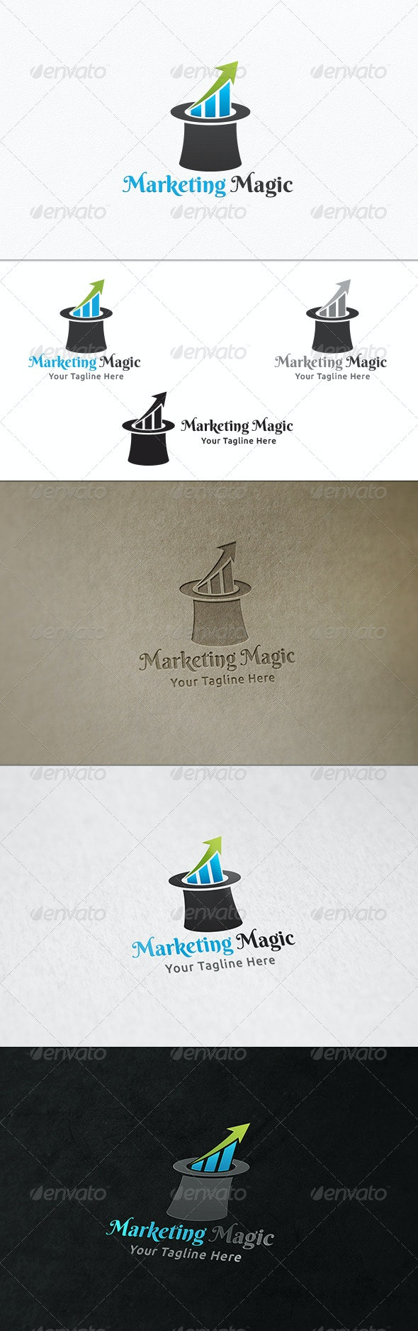 Marketing Tricks - Logo Template - Symbols Logo Templates