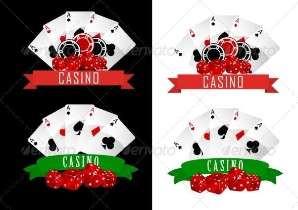 Casino Symbols - Miscellaneous Vectors