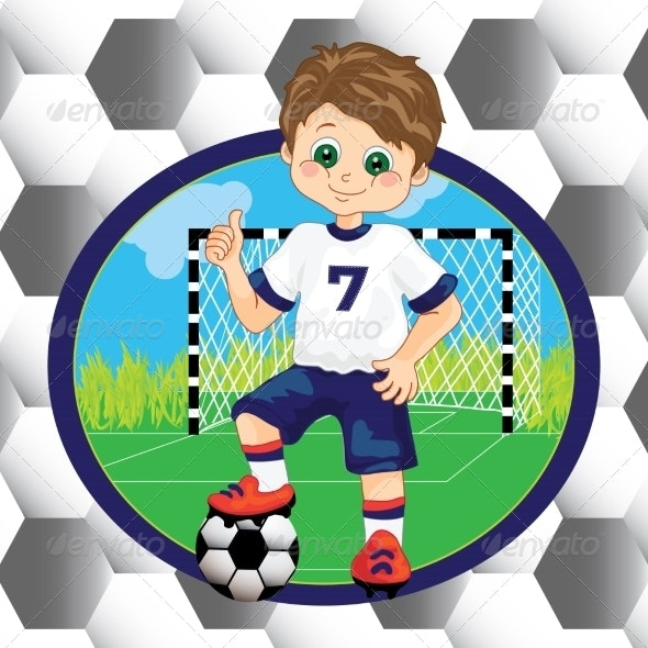 Boy Playing Soccer - Sports/Activity Conceptual