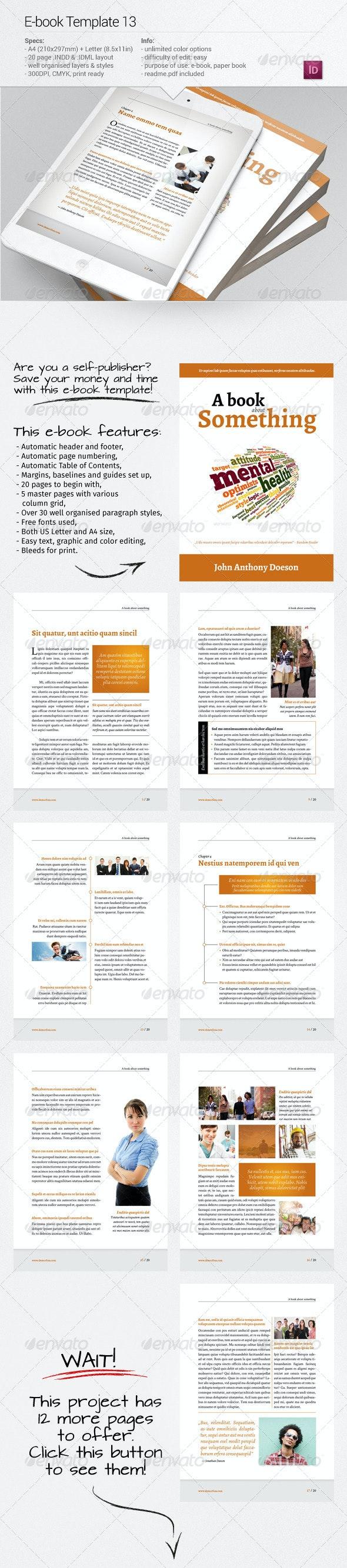E-book Template 13 - Digital Books ePublishing