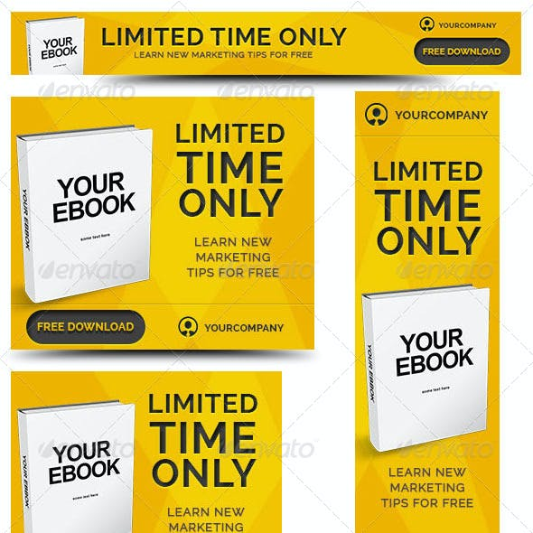 Ebook Web Banner Template