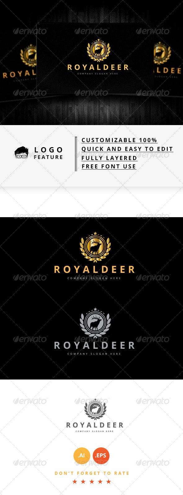 Royal Deer - Logo Templates