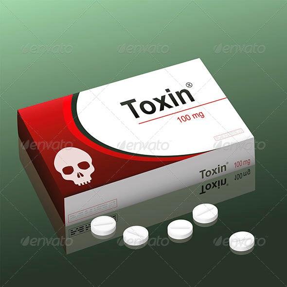 Pills Toxin - Health/Medicine Conceptual